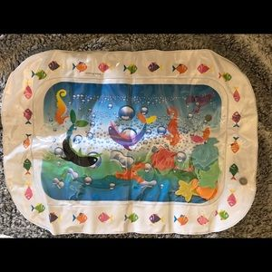 Baby water tummy time inflatable mat